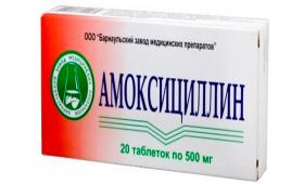 Применение Амоксициллина при беременности
