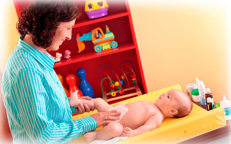 Что делать если у новорожденного мокнет пупок?