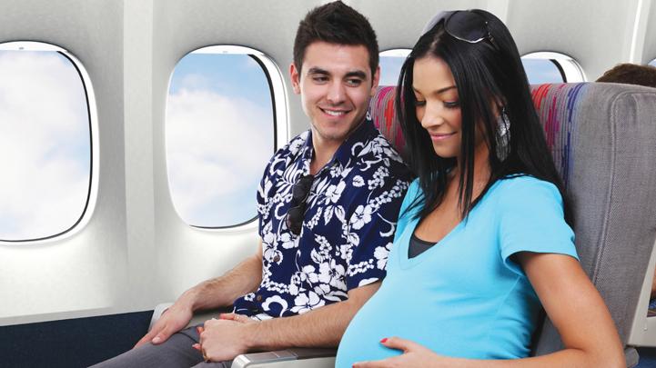 Беременная за границу