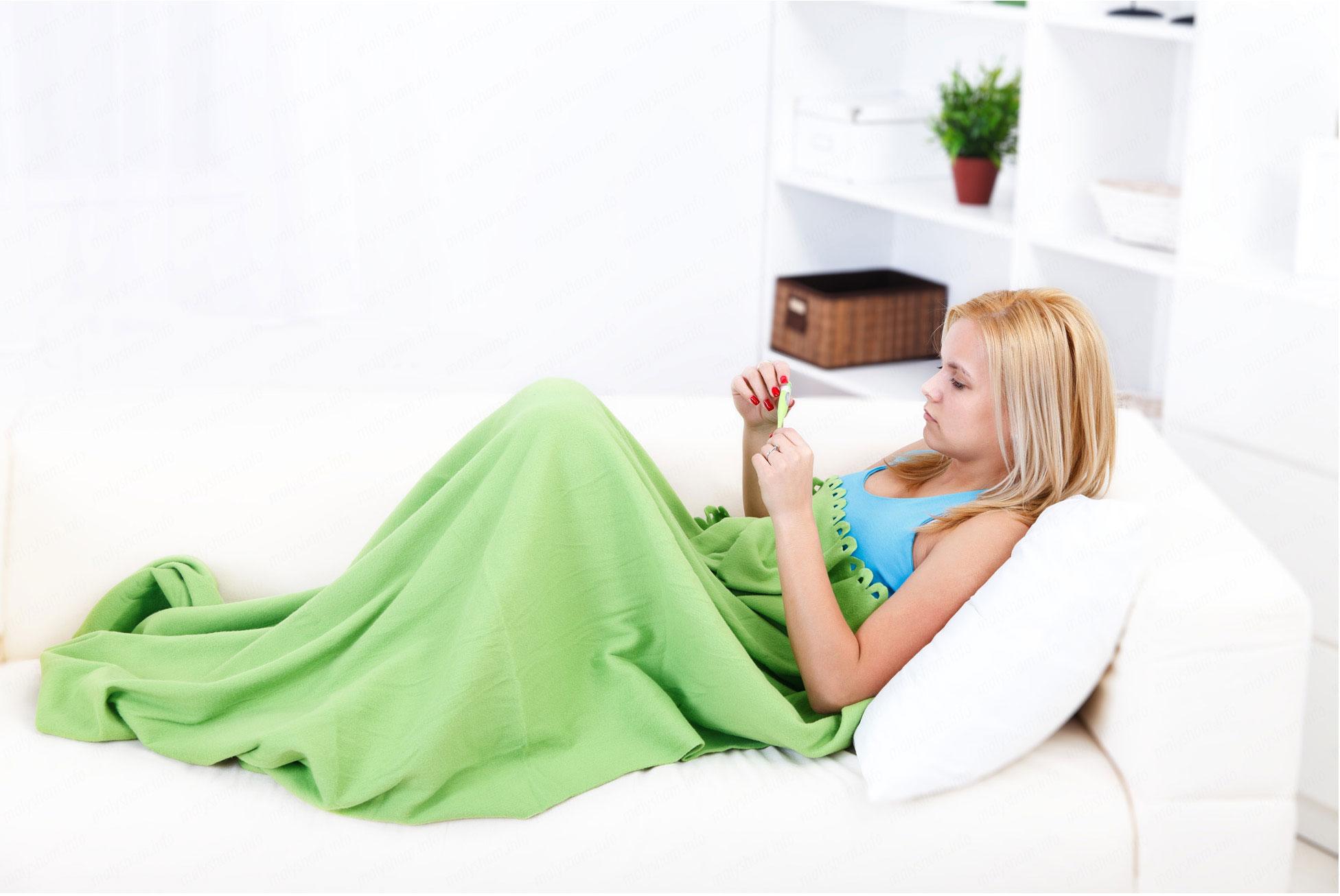 Повышенная температура тела это признак беременности