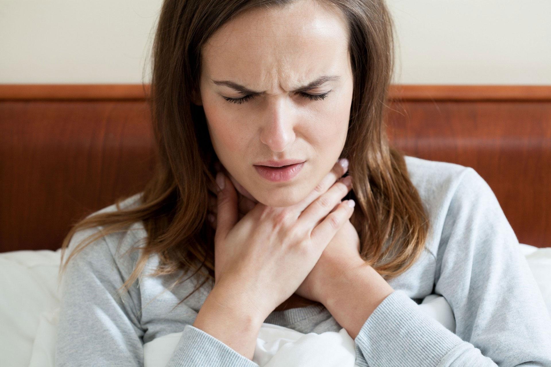 Болит горло беременность 1 триместр