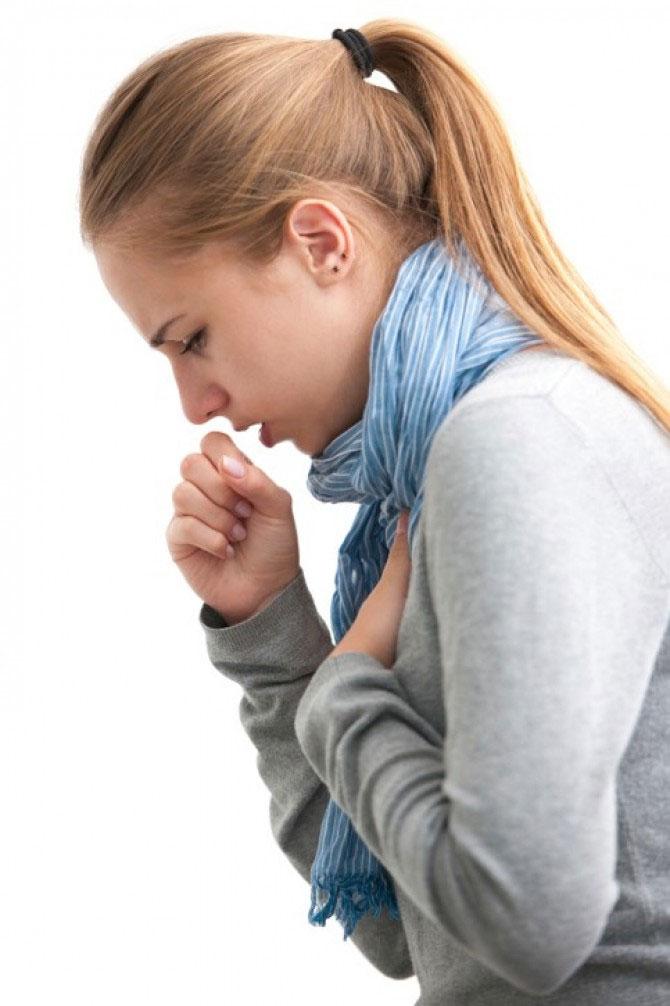 сухой кашель в картинках происходит из-за того