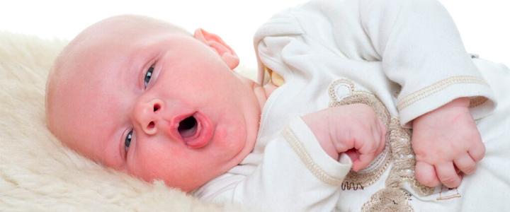 Сухой кашель у новорожденных