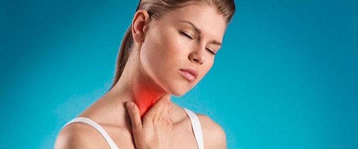 Недостаток секса боль в горле
