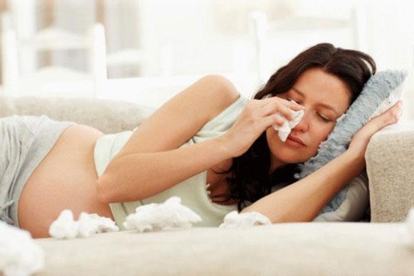 Лечение простуды в 1 триместре