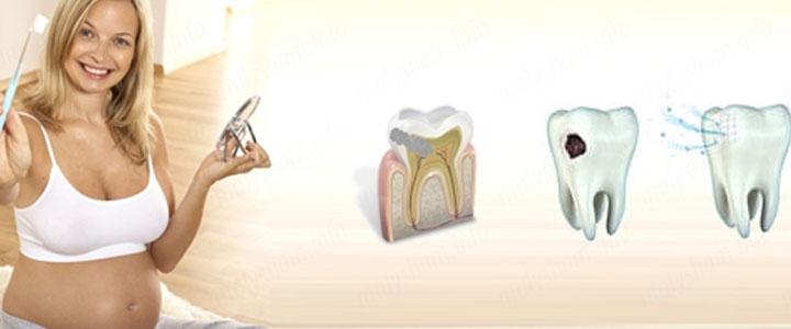 Можно ли лечить зубы во время беременности