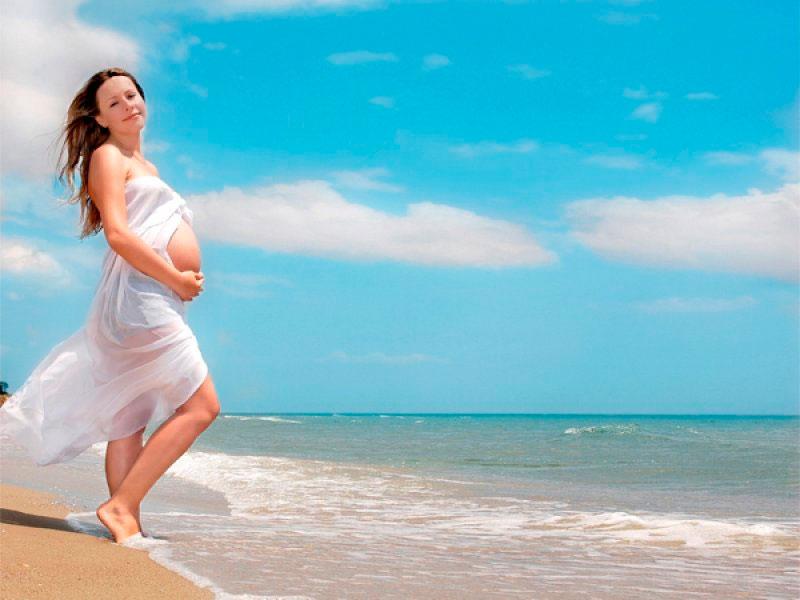 Можно ли ехать на море в первый месяц беременности