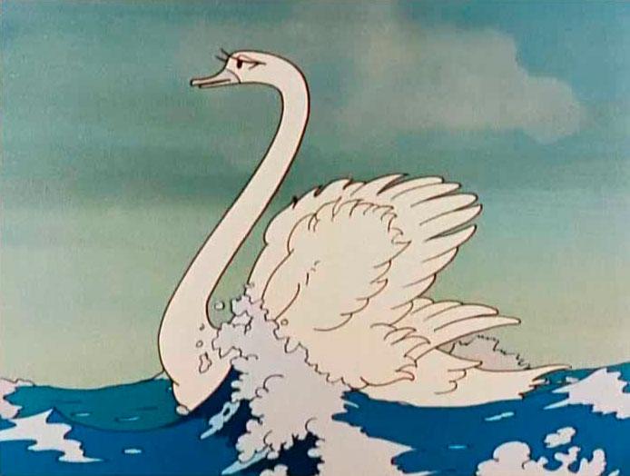 лебедь из царя салтана картинки может