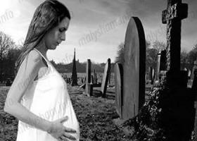 Можно ли беременным ходить на кладбище: мнения экспертов