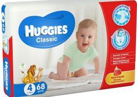 Особенности подгузников Huggies