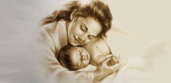 """Стихотворения для детей на тему """"Мама"""""""