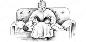 """Стихотворения для детей на тему: """"Бабушка"""""""